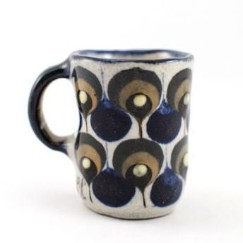 Espresso Cup, coffee, mug, ken edwards design, fair trade espresso cup, hand made cup, hand painted cup, mug, ceramic cup, fair trade mug