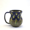 Lucia's World Emporium Fair Trade Handmade Guatemalan Ceramic Raindrop Coffee Mug