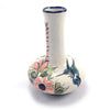 Lucia's World Emporium Fair Trade Handmade Ceramic Wild Bird Bud Vase