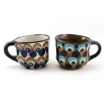Lucia's World Emporium Fair Trade Handmade Guatemalan Ceramic Tea Cup