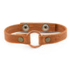 Lucia's World Emporium Fair Trade Handmade Copper Bridle Leather Bracelet from Guatemala