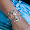 String Charm Bracelets Fair Trade Courage
