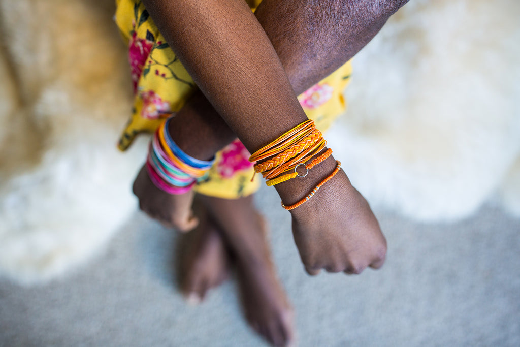 Fair trade String Bracelets handmade in Guatemala