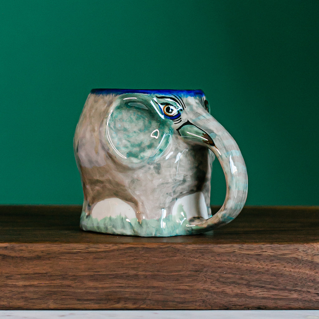 Fair Trade Elephant Coffee Cup / Mug made in Guatemala