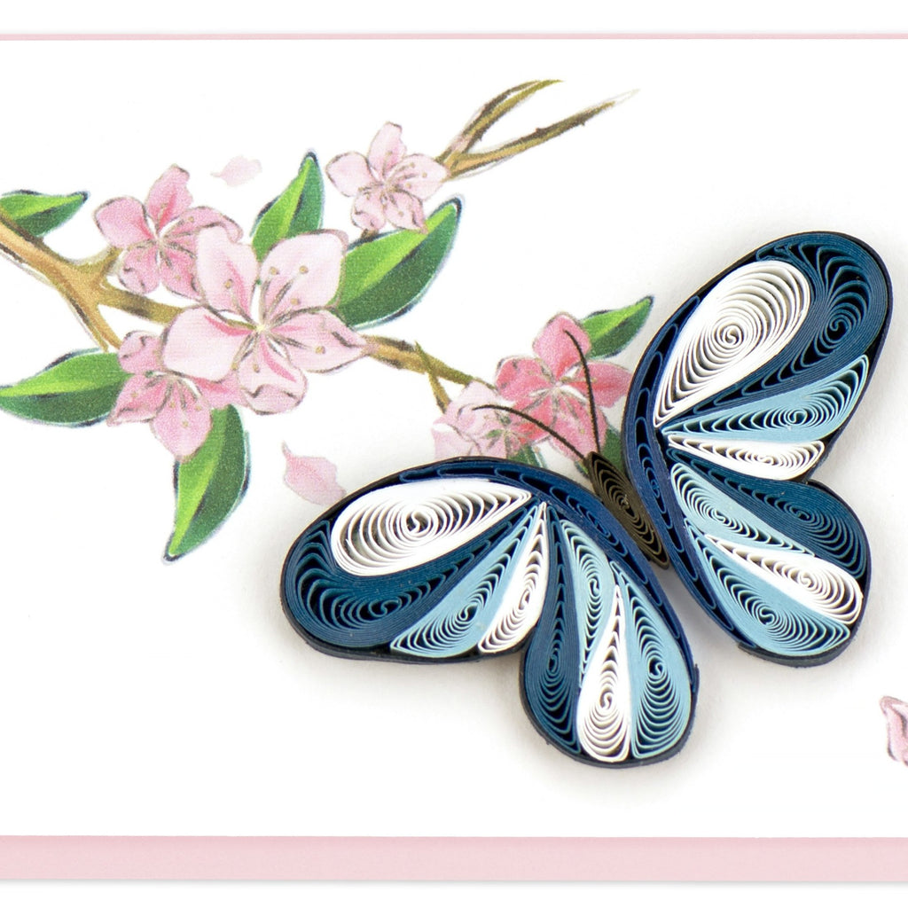 Quilling Butterfly Note Card