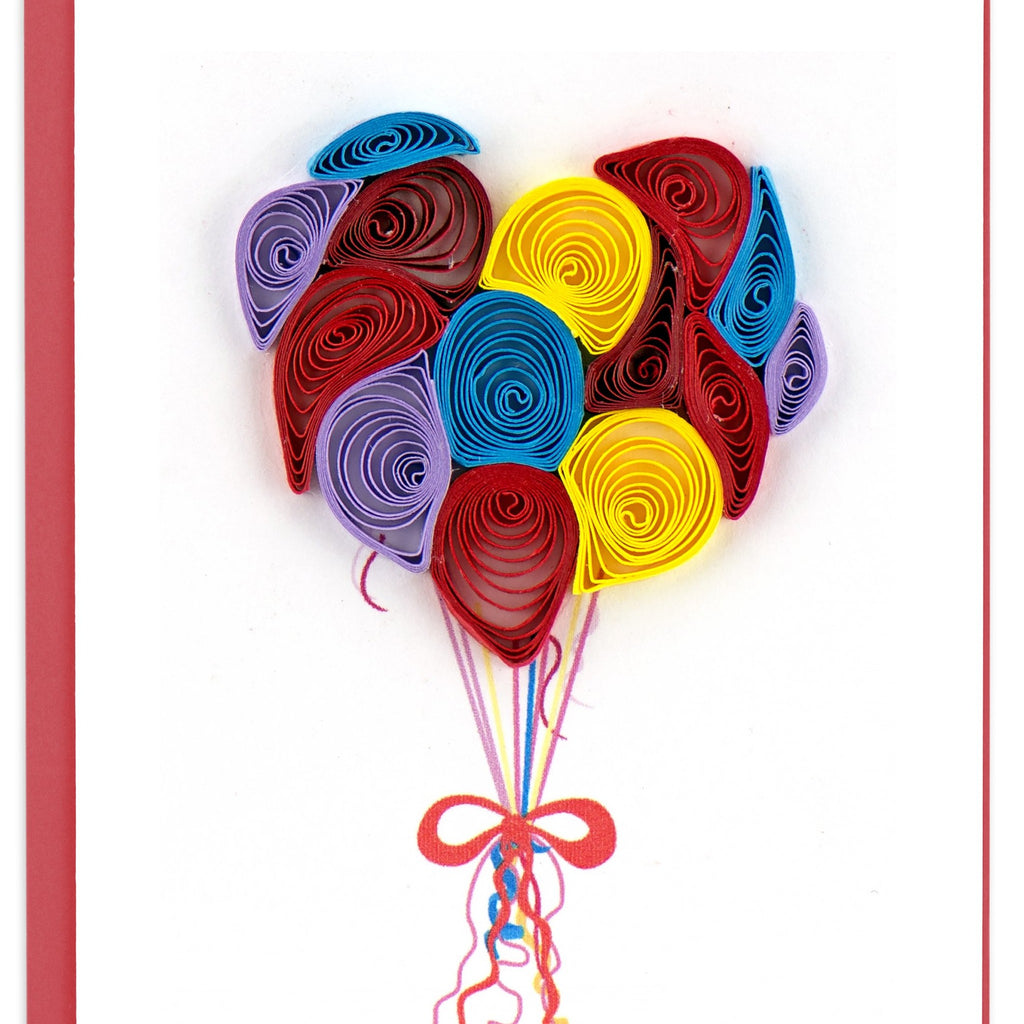 Quilling Card Balloon Note