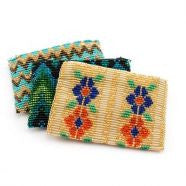 Lucia's World Emporium Fair Trade Handmade Guatemalan Beaded Coin Bag