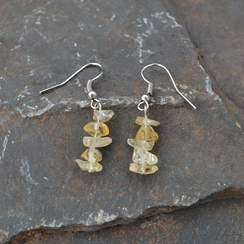 Lucia's World Emporium Fair Trade Handmade Rock Candy Earrings from Guatemala