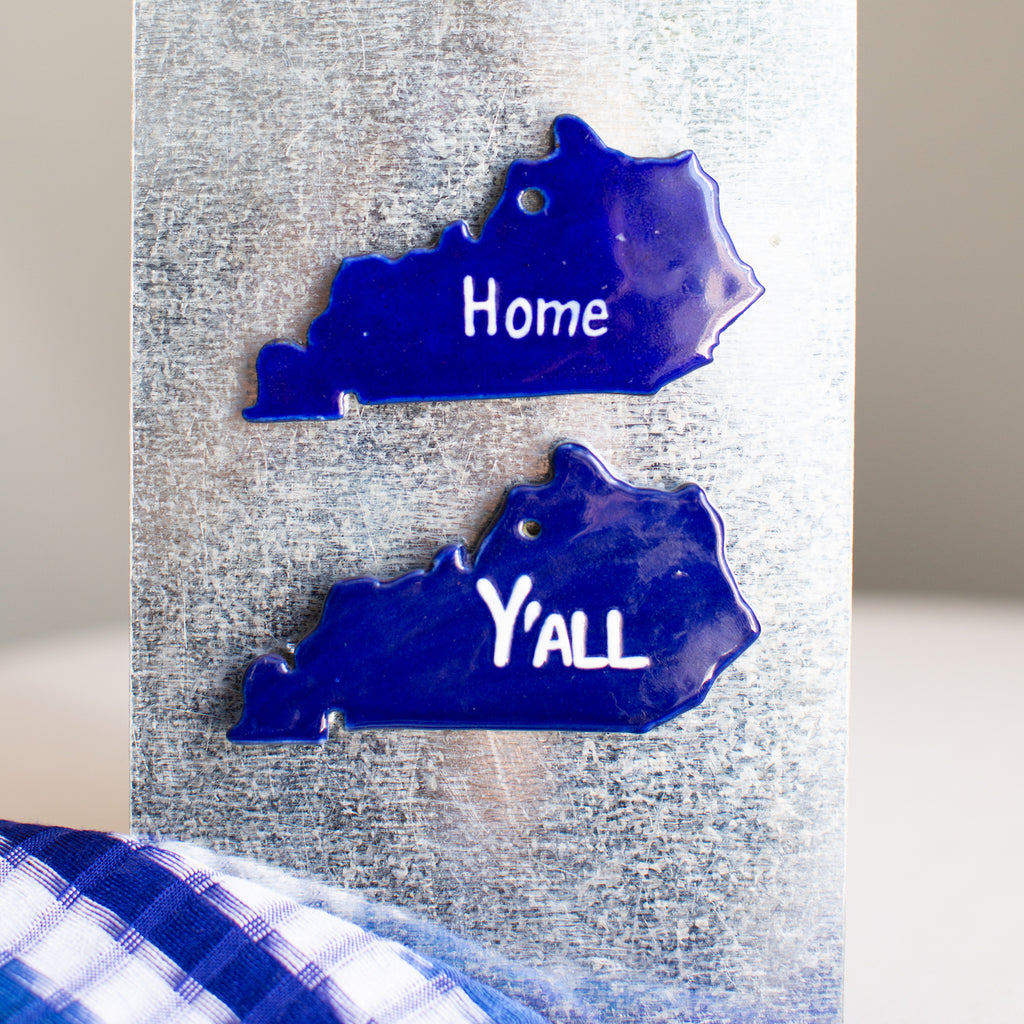 Fair Trade Kentucky map ornament Home