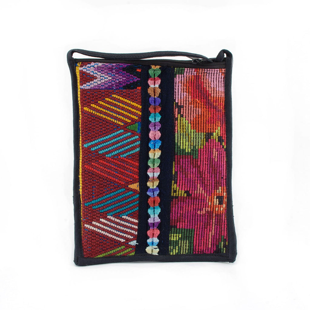 Lucia's World Emporium Fair Trade Handmade Guatemalan Patch Passport Purse