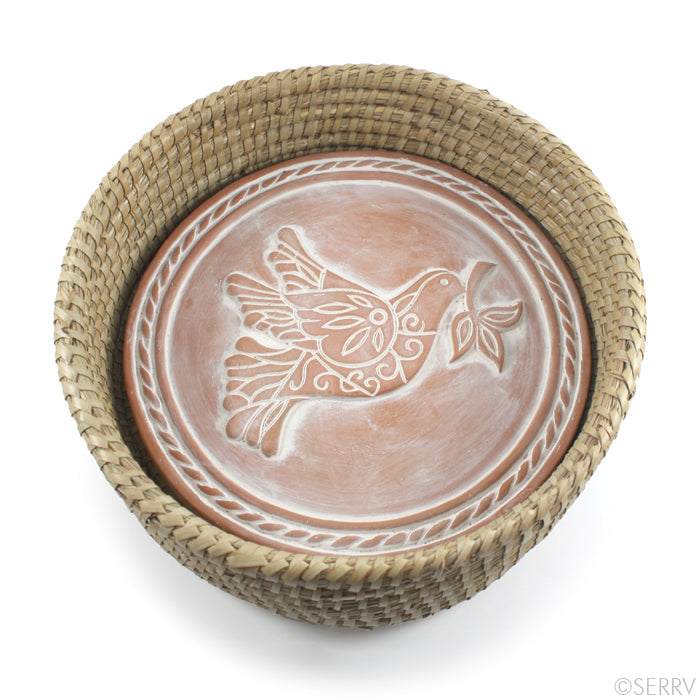 Peace Dove Breadwarmer
