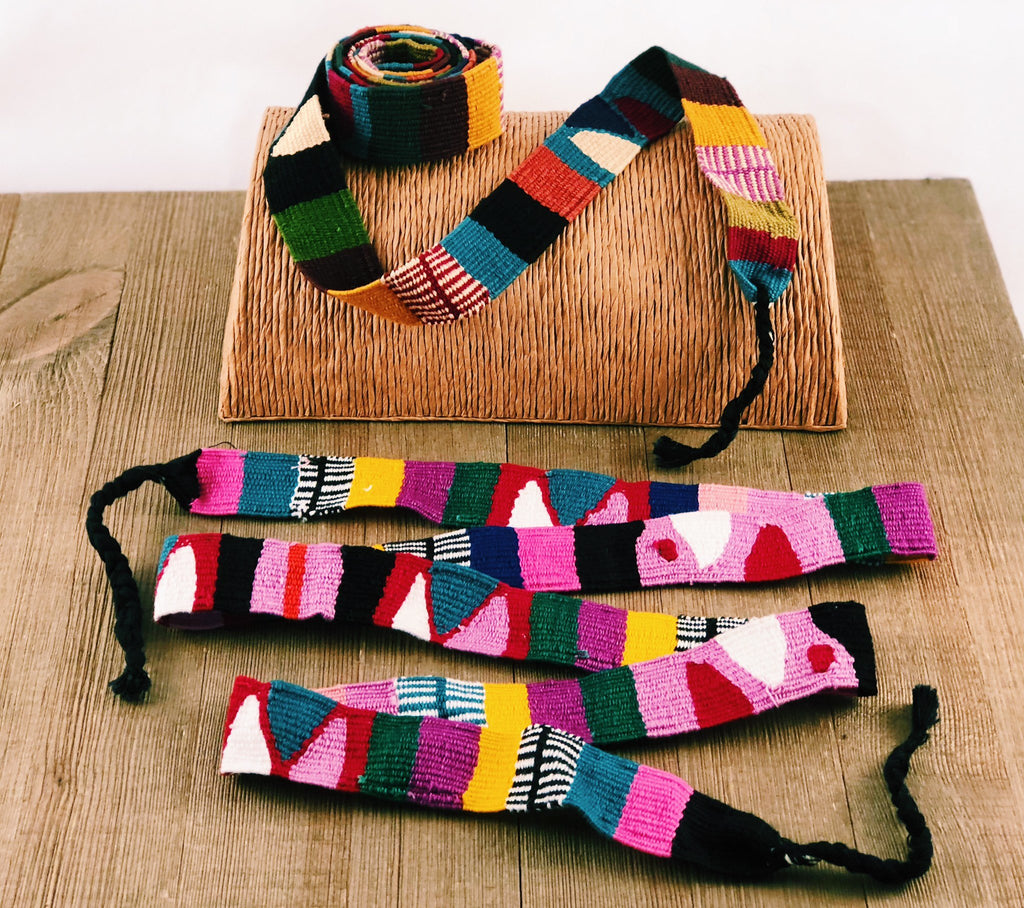 Lucia's World Emporium Fair Trade Handmade Guatemalan Woven Toto Sash and Headband