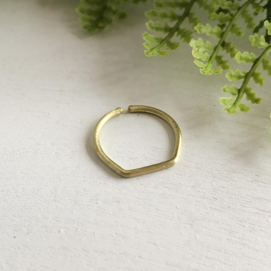 World Finds Gold Stacking Ring