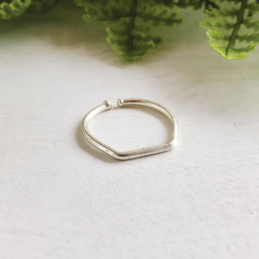 World Finds Silver Stacking Ring