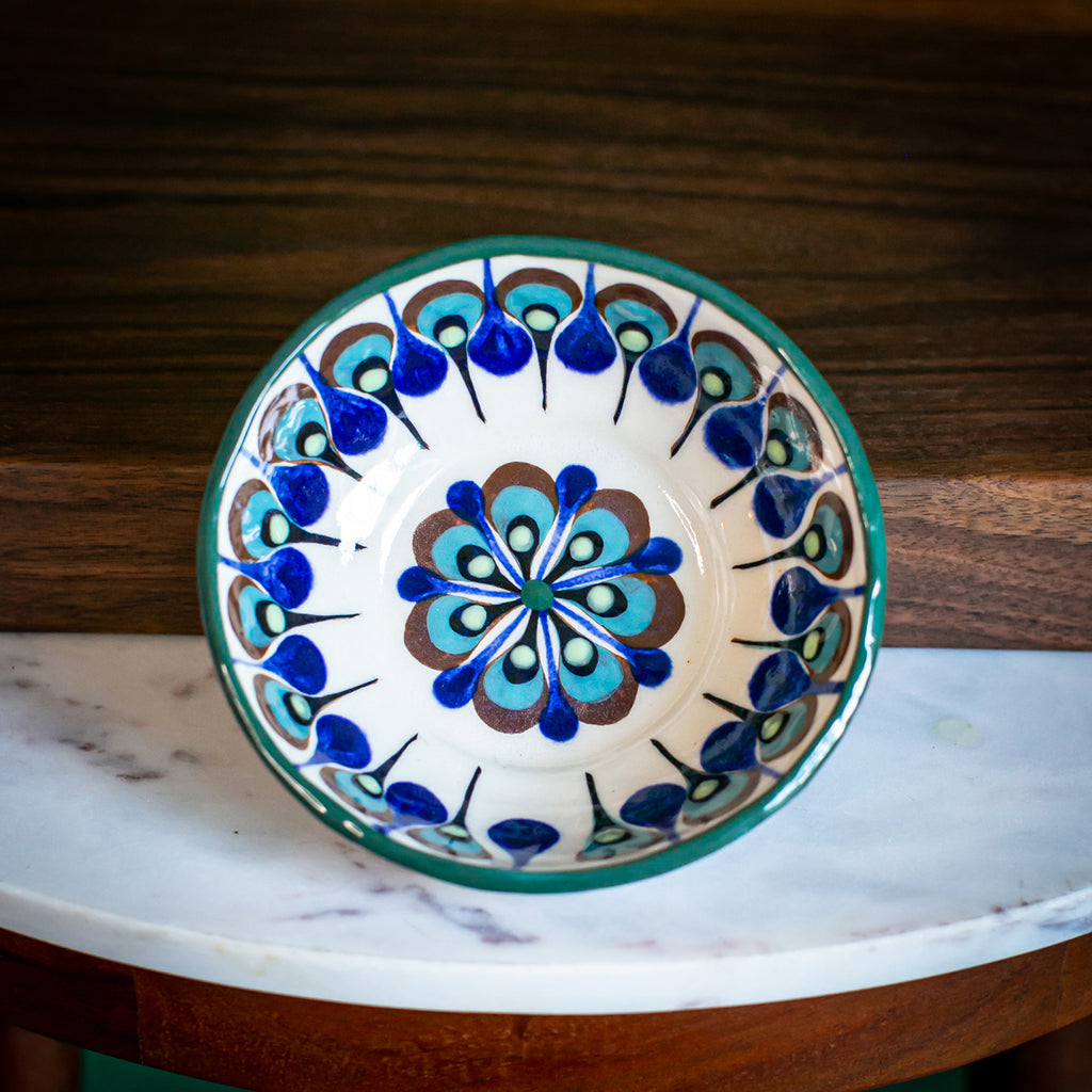 Lucia's World Emporium Fair Trade Handmade Guatemalan Ceramic Salsa Bowl