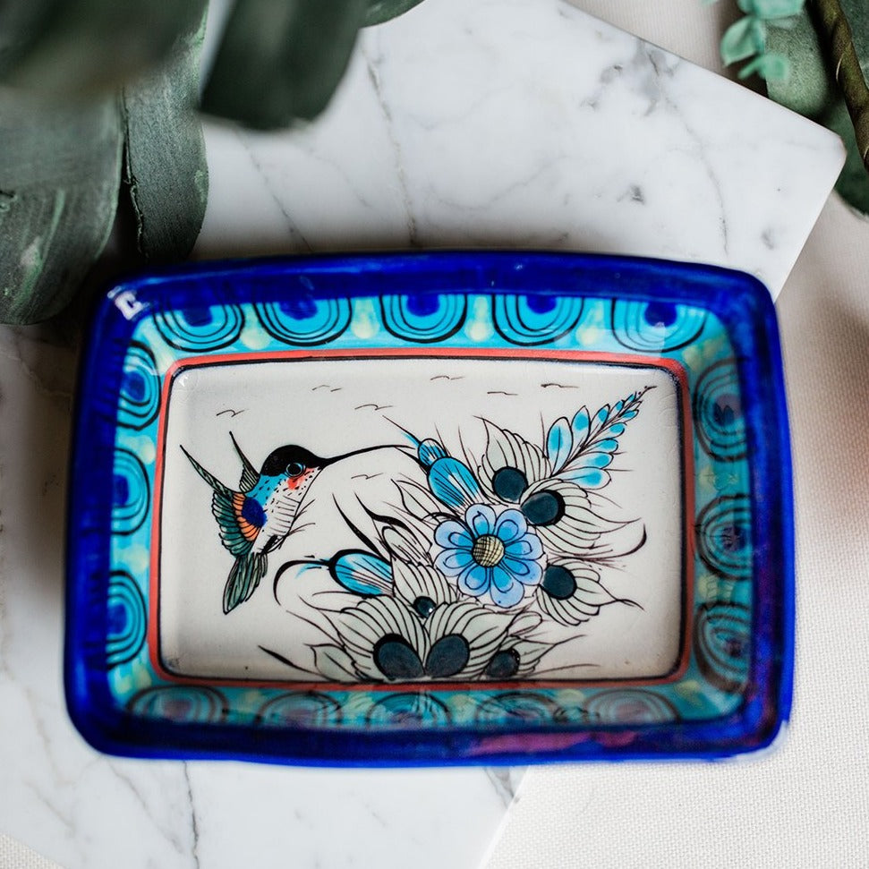 ken edwards pottery fair trade plate dish rectangle wild bird dish fair trade ceramics handmade for the home kitchen accessories party planning shower gift wedding present home decor