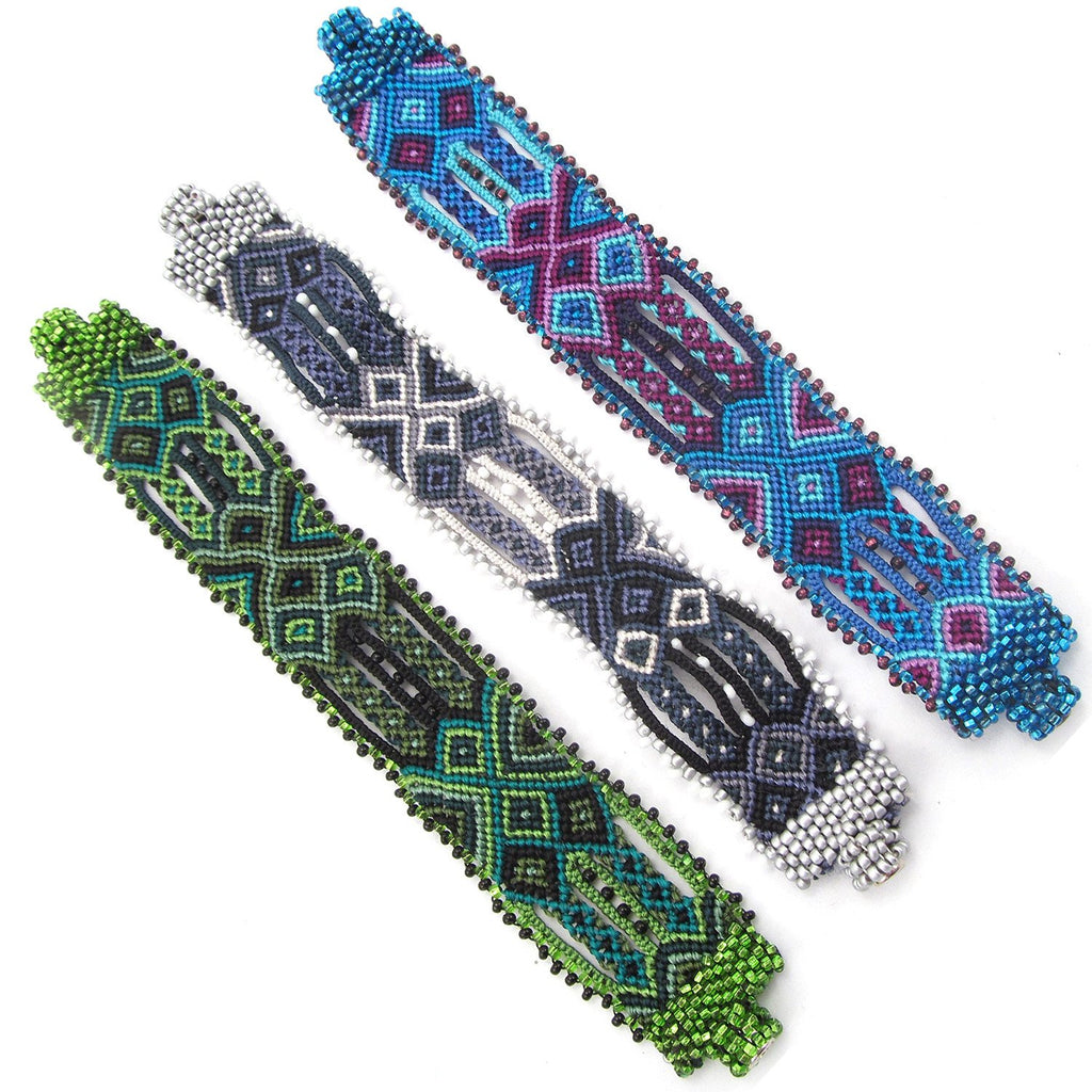 Guatemalan Beaded and Woven Friendship Bracelets