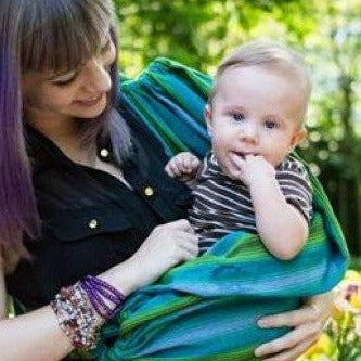 Lucia's World Emporium Fair Trade Handmade Baby Pet Sling from Guatemala