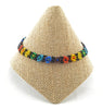 Lucia's World Emporium Fair Trade Handmade Beaded Flower Anklet from Guatemala