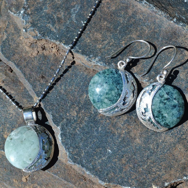 Jade Pendant Set Eclipse *Reversible
