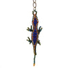 Beaded Lizard Keychain