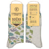 grey blue green conscious step socks protect sloths