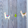Nature Garland Llama and Cactu