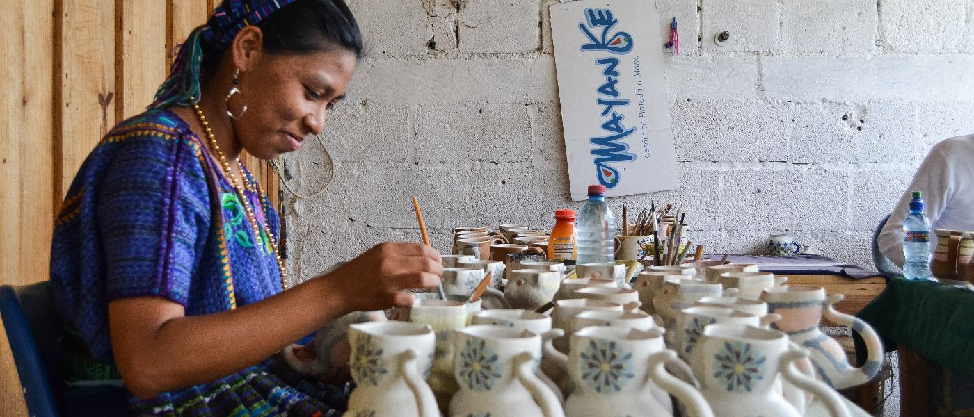 Guatemalan pottery Ken Edwards