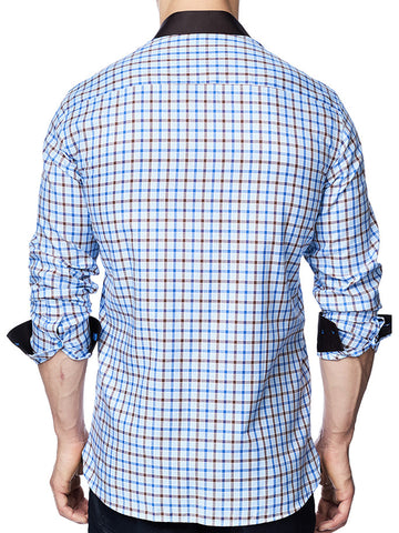 Blue Gingham - VALENTI