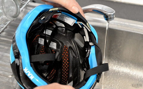 Image result for washing cycling helmet