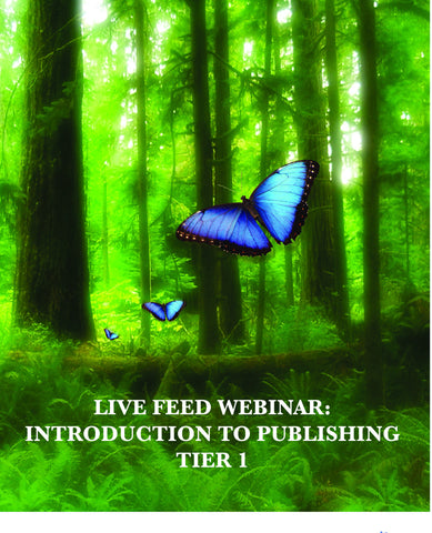 Webinar Course: Intro to Publishing