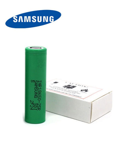 Samsung 25r 18650 Battery Cell (Paired)