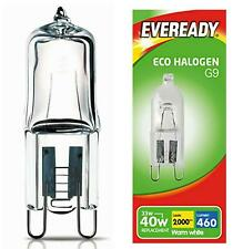 10 x S10110 EVEREADY ECO HALOGEN G9 33W(40W) 220-240V CAPSULE - Electrobright Ltd