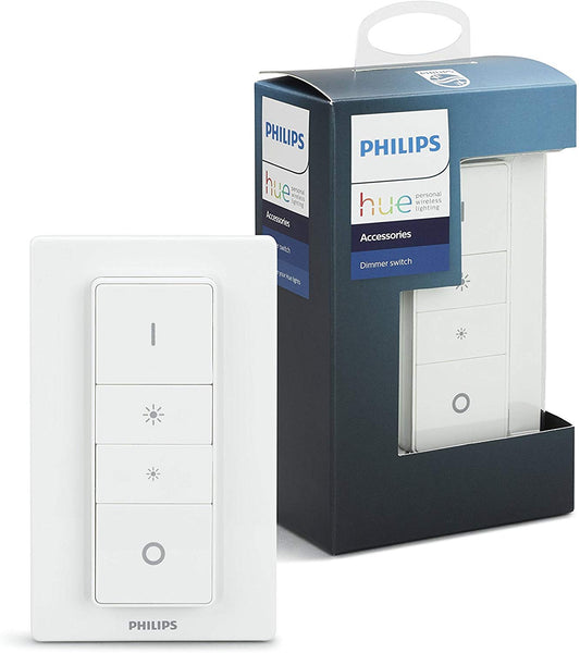 Philips Hue Smart Wireless Dimmer Switch, Exclusive for Philips Hue Lights) - Electrobright Ltd