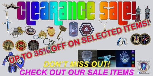 CLEARANCE SALE! Selected items ...up to 35% off!