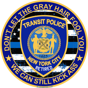 New York City Transit Police Decals!
