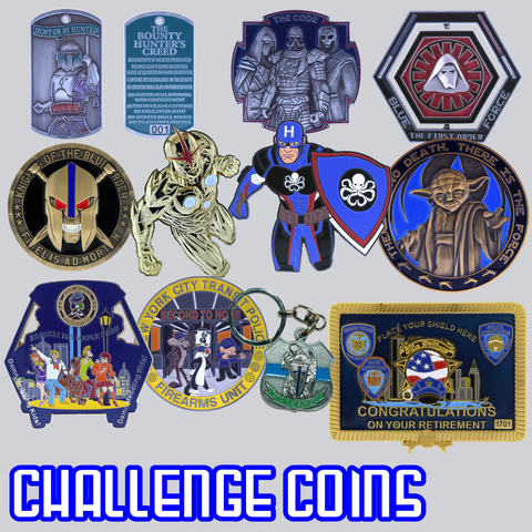 blueunicoin challenge coins