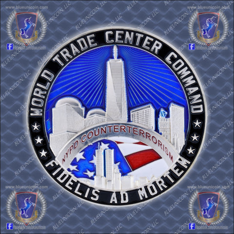 NYPD WTCC Challenge Coin