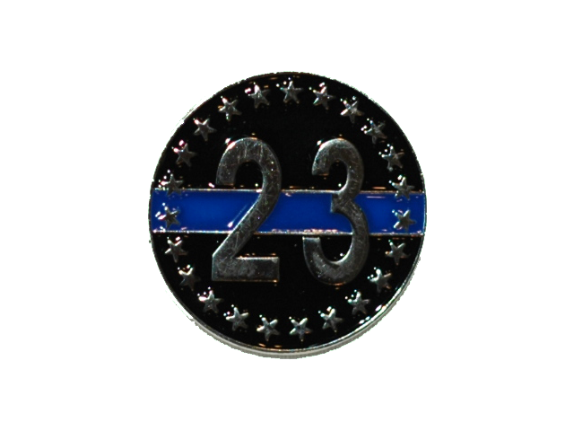 23 Memorial Lapel Pin