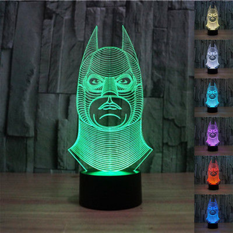 Batman 3d Led Night Light