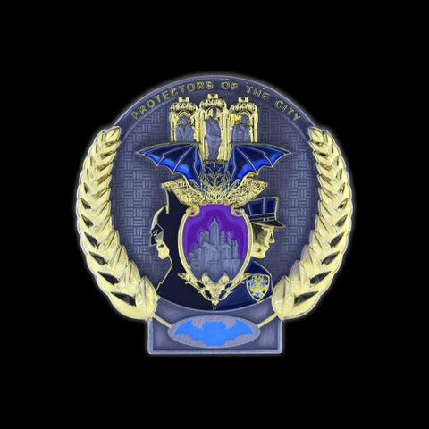 NYPD Protectors of the CIty Custom Challenge coin Front