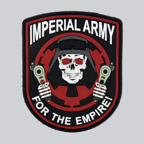 STAR WARS IMPERIAL ARMY PVC PATCH