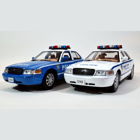 2010 CROWN VICTORIA POLICE CARS-- FAUX NYPD