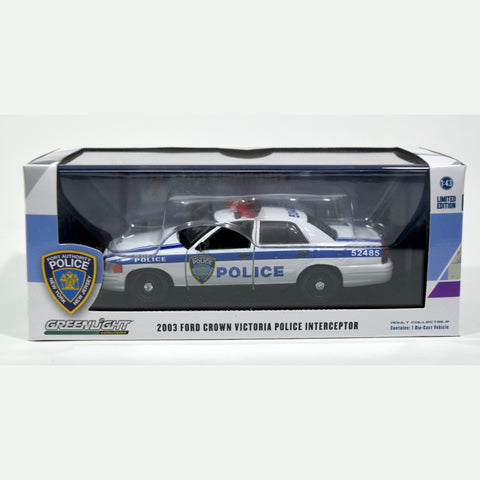 Greenlight NY/NJ Port Authority Crown Victoria 1:43 Die Cast Car
