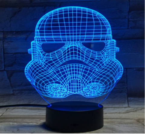 Star Wars Storm Trooper 3d Led Night Light