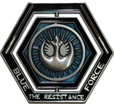 Star Wars Spinning Challenge Coin Back