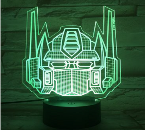 Transformers 3d Led Night Light