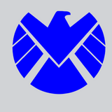 Agent of Shield Decal Blue