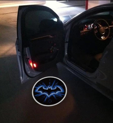 batman car door led projector