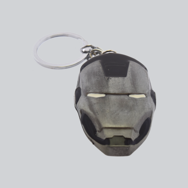 iron man key chain black
